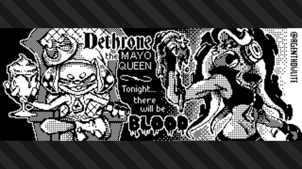 Dethrone the Mayo Queen and usurp the throne for a more worthy condiment! #Splatoon2 #Splatfest #TeamKetchup #TeamMayo #NintendoSwitch<br>http://pic.twitter.com/m1Ts0odbHf