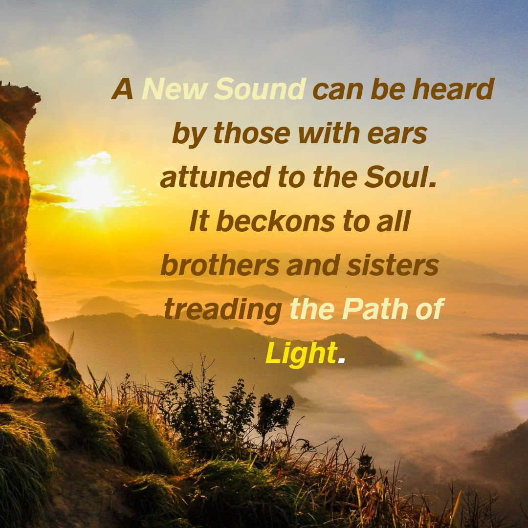 Can you hear it, ringing louder and louder...?   #AgeOfLight #ListenCarefully #Soul #SoulBrothersAndSisters #Path #Light #NewWavesOfLightpic.twitter.com/2NyrBkq7rz