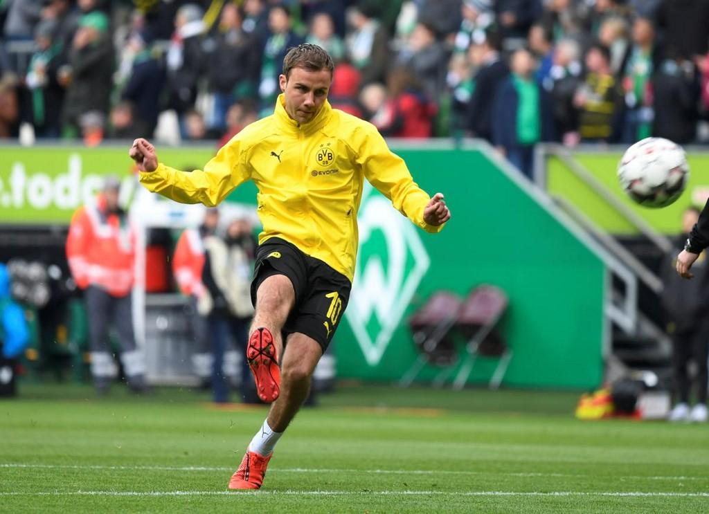 World Cup winner Goetze to leave Dortmund at end of season