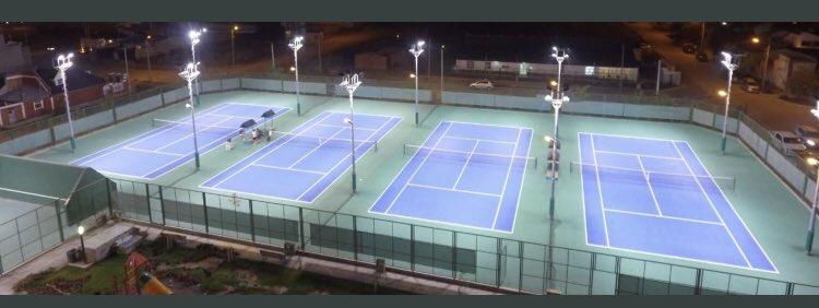 Felices toda la familia del tenis de la Provincia del Chubut! Volvemos al tenis🎾! Mañana 24 arrancamos el @ClubTrelew Trelew Tennis Club con todo el protocolo bien estudiado. Gracias a la @AATenis por el gran trabajo realizado allanándonos el camino a todos los clubes del país https://t.co/D0g82DuWzb