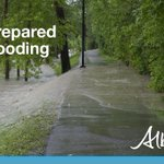 Image for the Tweet beginning: Be prepared for spring flooding