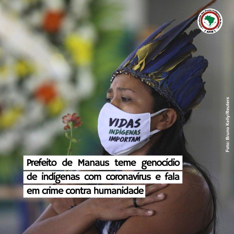 O Amazonas concentra o maior número de mortes entre indígenas no Brasil até o momento, com 92 parentes mortos por Covid-19. Desses mais de 40% dos casos estão na capital, Manaus. #coronavírus #povosindigenas
