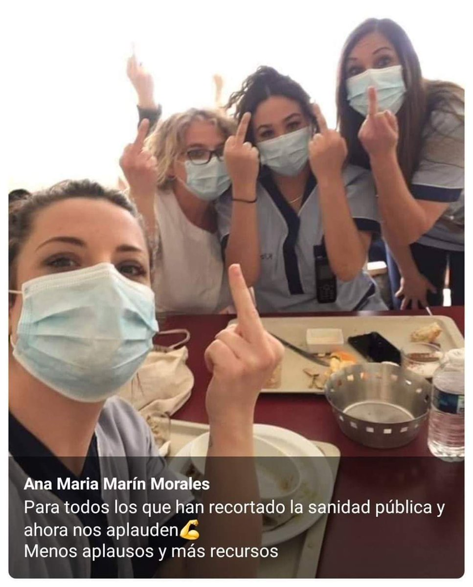 @PReina25 Los sanitarios te lo agradecen #ElVirusSoisVoxotros