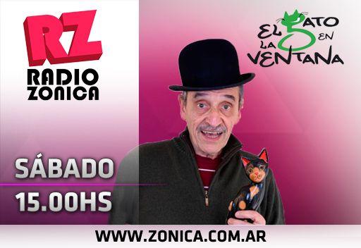 #AIRE #RadioZonica #GrupoZonicaEnCasa  ¿Estás en casa? Nosotros también! Por eso, #ElGatoEnLaVentana preparó las mejores entrevistas con personalidades de la cultura. AHORA > http://www.radiozonica.com.ar #GrupoZonicapic.twitter.com/0mzY27uIlK