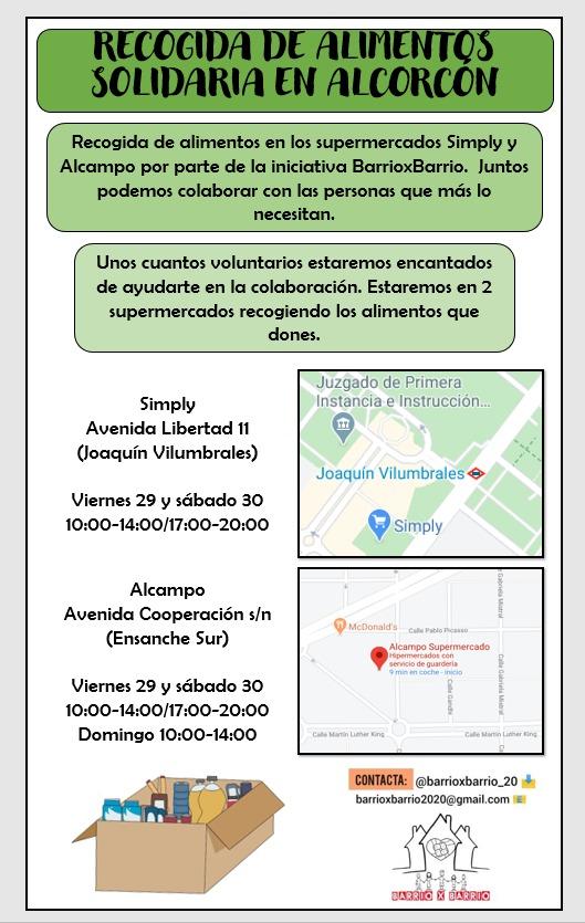 🚨 MÁXIMA DIFUSIÓN 🚨 vamos a intentar que llegue a todos los vecinxs de #Alcorcón  #BarrioXBarrio20 #Gracias https://t.co/k6XYoUOKmN
