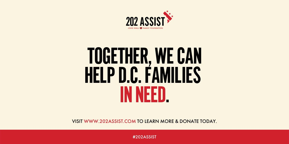 We need your ASSIST #202ASSIST