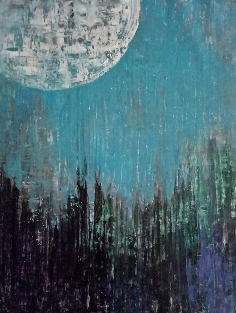 """[HARSHITA NANDWANI: #ARTDEXstories] Does creating art help you heal? [1/2]   """"I owe, whatever the person I am to my Art. Art helped me survive my break-up phases, my struggle and made me a better person."""" - Featured work: 'NIGHT' by ARTDEX member artist HARSHITA NANDWANI pic.twitter.com/fyuqnG9pn8"""