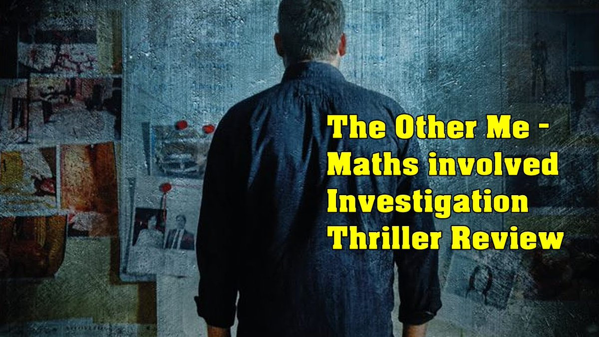 The Other Me - Maths involved Investigation thriller review.  #VisualDrops #TheOtherMe #MovieReview #investigation #thriller #murdermystery #COVID19 #MoonSighting #MovieTime #Corona #lockdown2020 #Chennai #Tamilnadu #Greece #reviews  Review Link: https://youtu.be/ujEQdPNP4Ogpic.twitter.com/1n8Qgi5rP9
