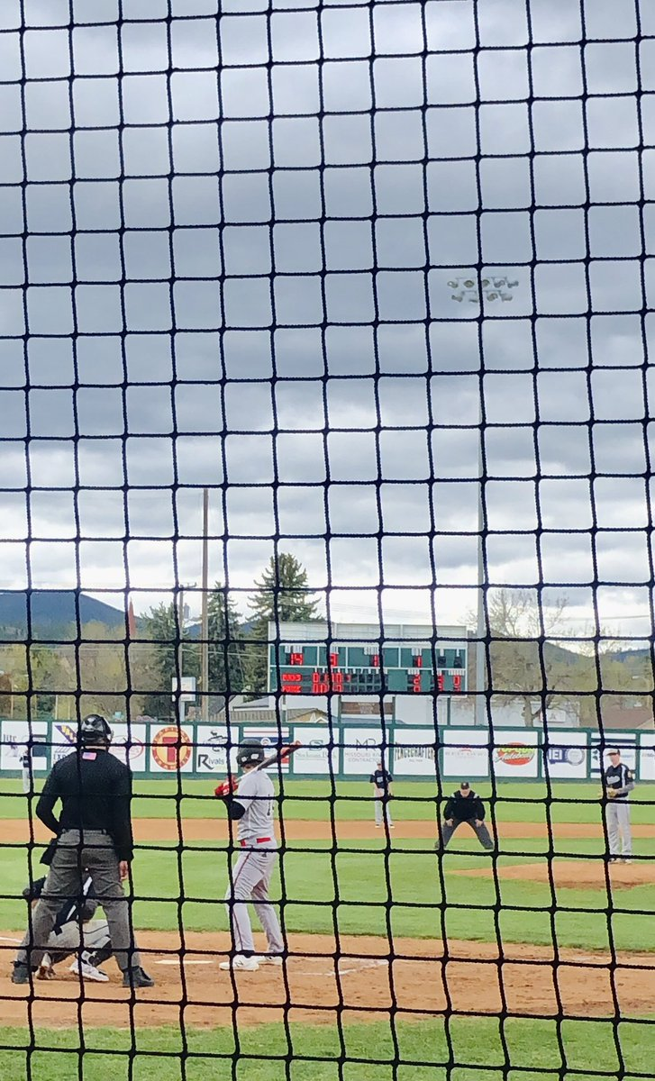 Season opener  got the dub   #BozemanBucks #Montana #Baseball pic.twitter.com/f9D7agmP7Q – at Kindrick Legion Field