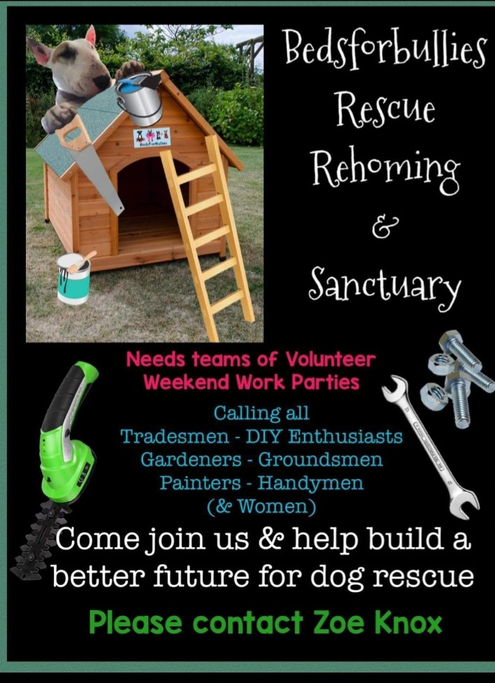 Volunteers needed at HQ... SOCIAL DISTANCING WILL BE STRICTLY ADHERED TO! Please contact Zoe Knox on fb.❤🐾