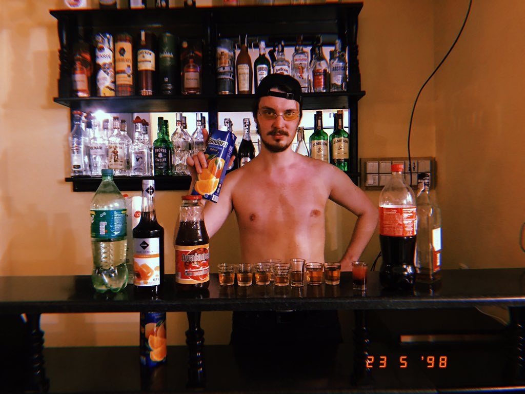 Topless waitresses and bartenders