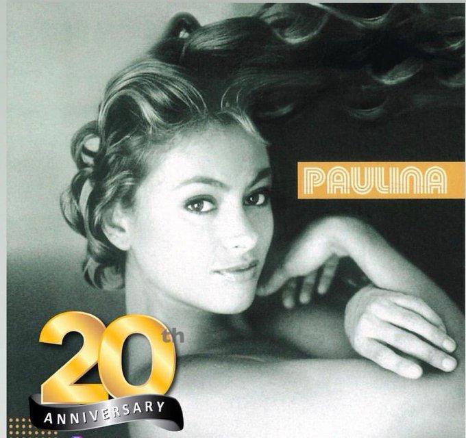 El 23 de Mayo del 2000 salía mi álbum #Paulina 💕💃🔥💥🌈🌪 Gracias a todos por tanto cariño!!! ☀️🥰 #aniversario