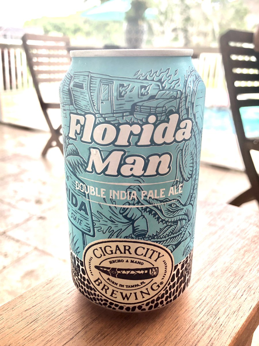 BREAKING: Florida man drinks...