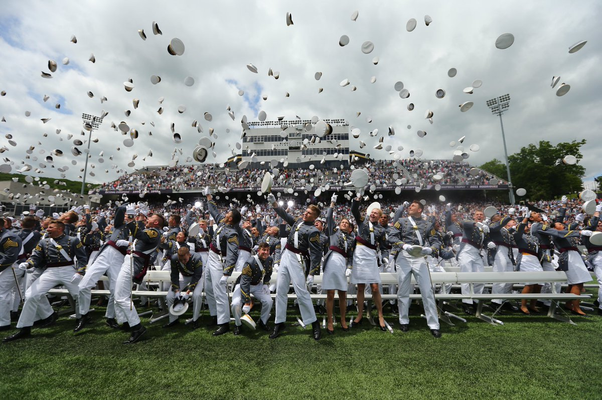 Today was the original date of graduation and commissioning of the Class of 2020. We invite you to share some of your memories of past graduations at Michie Stadium. And we look forward June 13. #GoArmy