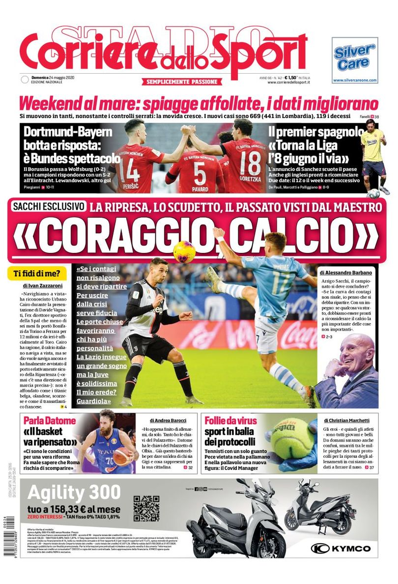 Sunday's Italian #Calcio headlines in English https://www.football-italia.net/todayspapers/153590?mobile=off … #SerieA #LaLiga #EPL #Bundesliga #Juventus #FCBarcelona #ACMilan #FCIM #Lazio #Torino #PSGpic.twitter.com/VyjheGedOP