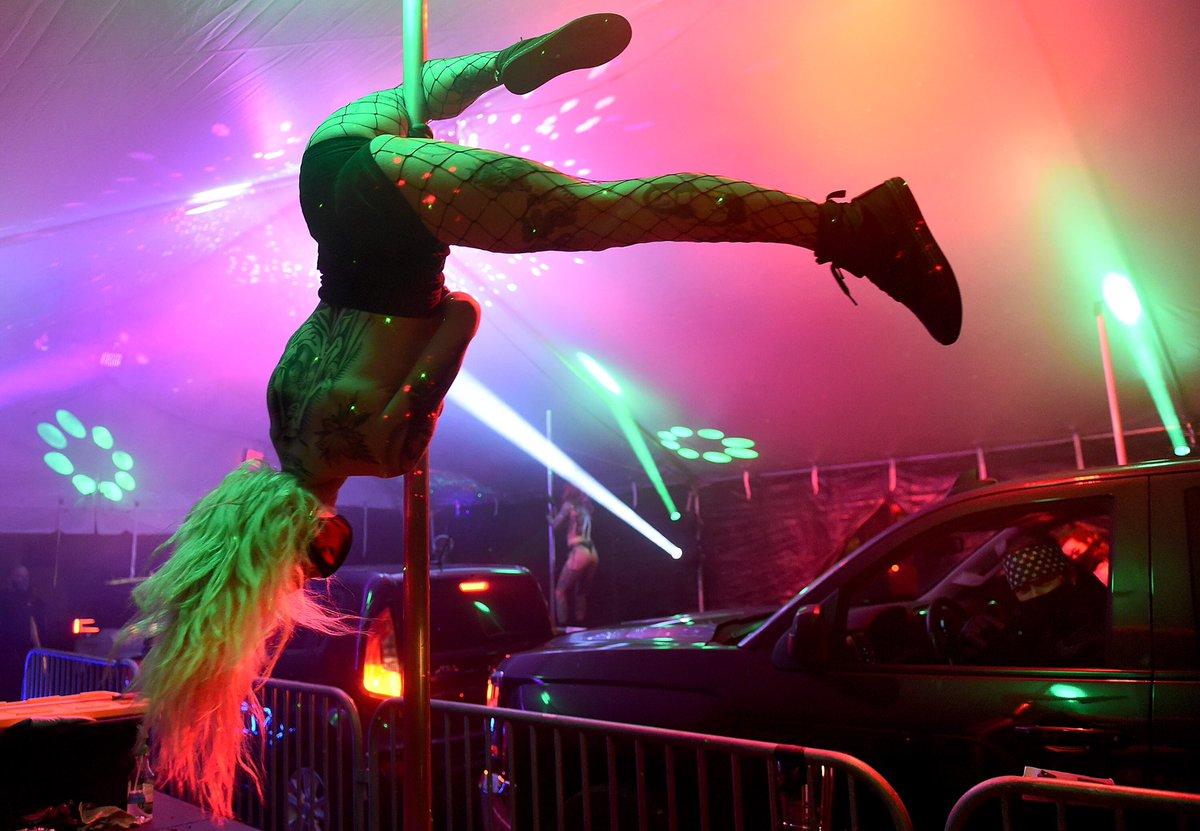 Portland's vegan strip club feuding with steakhouse strip club, vice reports