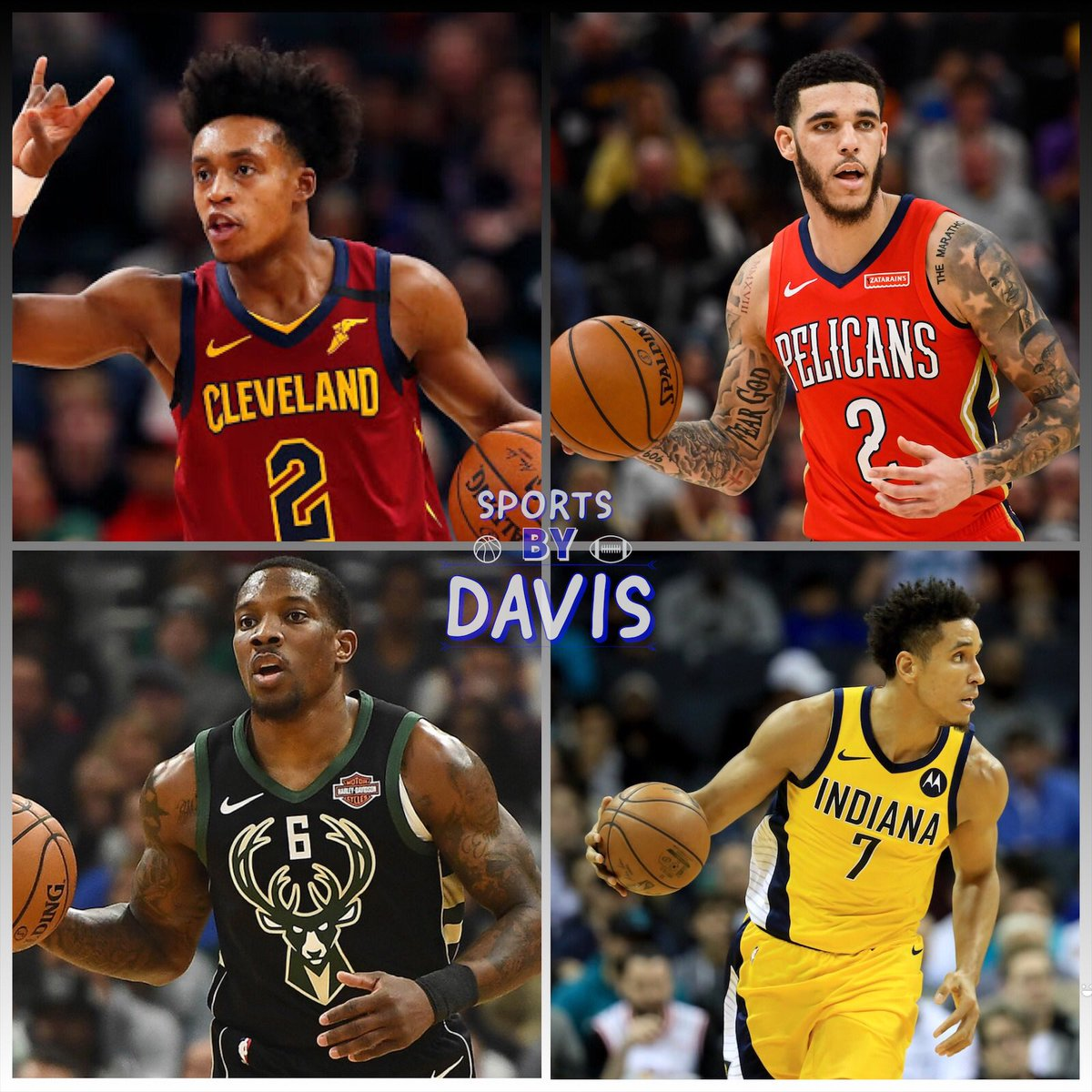 Rank these NBA Guards 1-4 as of right now and Go!   #NBA #NBABasketball #NBA2020 #Cavaliers #Pelicans #Ball #Lonzo #Bucks #Pacerspic.twitter.com/wyC2Y8x15L