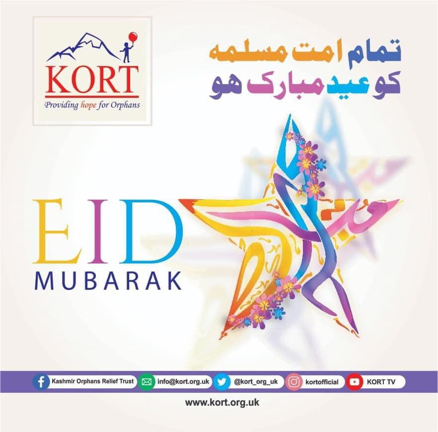I wish you all, a blessed Chand Raat and happy Eid At this hard time and emergency situation of COVID-19, follow the msg of Eid and stay united to fight against this.Let's Celebrate this Eid as simple as we can with our families and stay home for safety of everyone arround us.