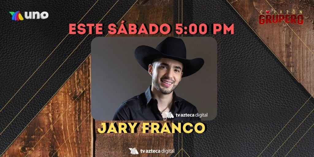 ¡Chavalones chequen los invitadazos que tenemos esta tarde en #CorazónGrupero! 🙌🏻🤠🎉 @Jaryoficial @diabloslocosmx @PonchoLizarraga @adictivaoficial   Nos vemos a las 5 por @aztecauno. https://t.co/Y5VwXLFFLy