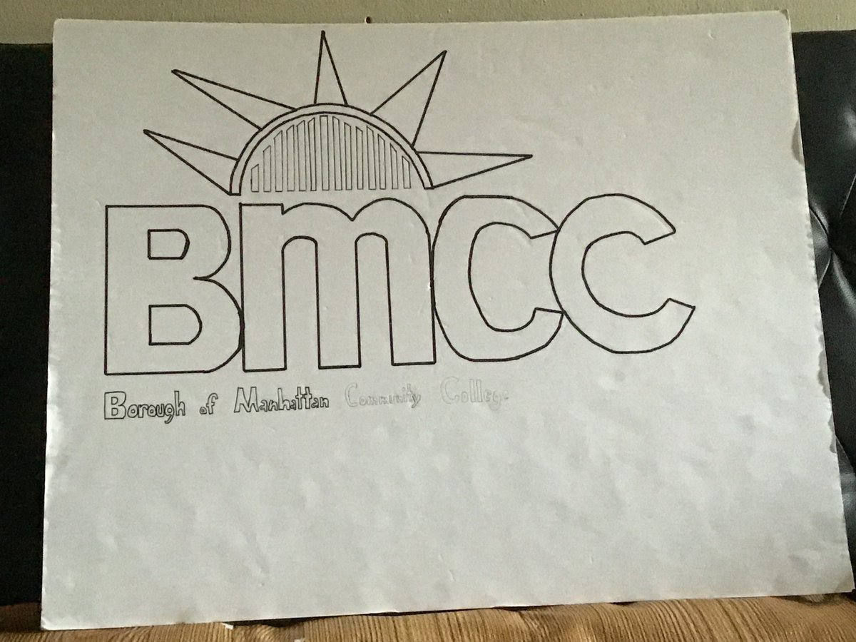 @bmcc_cuny i did a little picture , and I am going to bmcc for the first time this fall. :) Thank you for my school @HighGrady for making my life better always helping me out #gradyful2020 #grady2020 https://t.co/nLg0qTb1VG