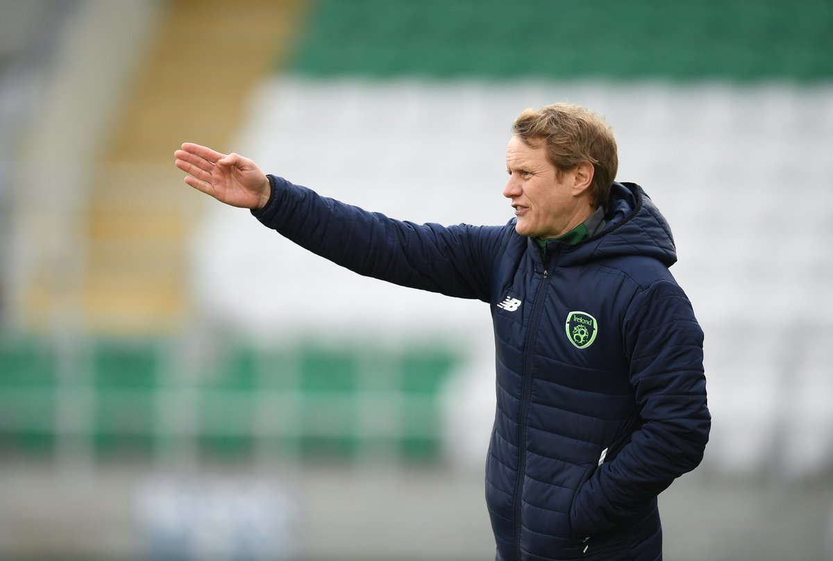 NEXT UP   🆓 Coaching Webinar  #IRLU17 Head Coach Colin O'Brien will conduct a webinar on Saturday, May 30 at 11:00  Topic   Preparation to opening game of #U17EURO   Send your questions on this topic to coached@fai.ie https://t.co/HYKNsA9Clb