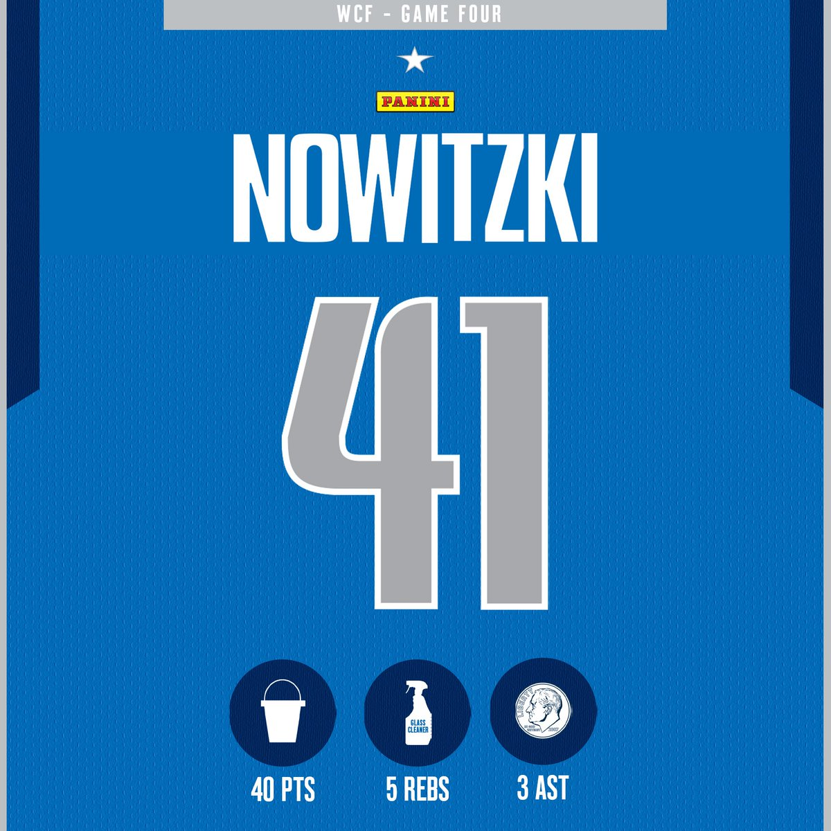 On This Day (2011): Dirk Nowitzki dropped 40 points for the second time in the 2011 Western Conference Finals against the OKC Thunder 🐐   There have been 10 40-point playoff games in Mavs history, seven of which belong to Nowitzki. #MFFL https://t.co/gJ87OiY1t2