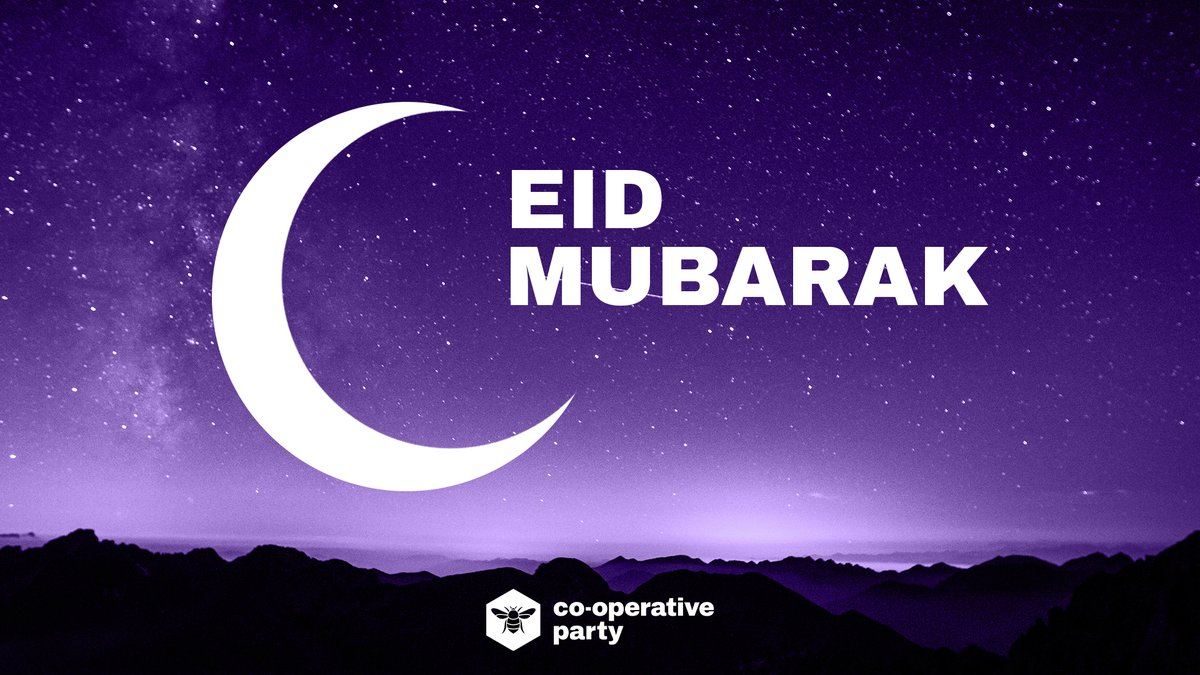 #EidMubarak to everyone celebrating tonight, even in the most difficult of times.