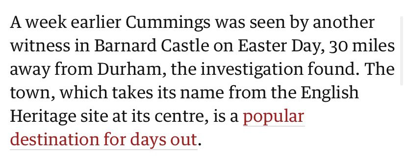 Good spot from an anonymous online sleuth. That Easter Day trip to Barnard Castle? Looks like it was also Mary's birthday <br>http://pic.twitter.com/IhDgmmmFKV