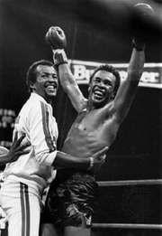Happy Birthday to American boxer, Marvin Hagler born today in 1954.