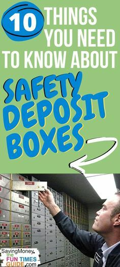 Before you get a safe deposit box (or lockbox) at your local bank, read this! For example... you should try to get one that's higher up, rather than lower in the room -- see why! #savingmoney #moneysavingtips #banks https://ift.tt/2X1Az69 pic.twitter.com/MojxMozStK