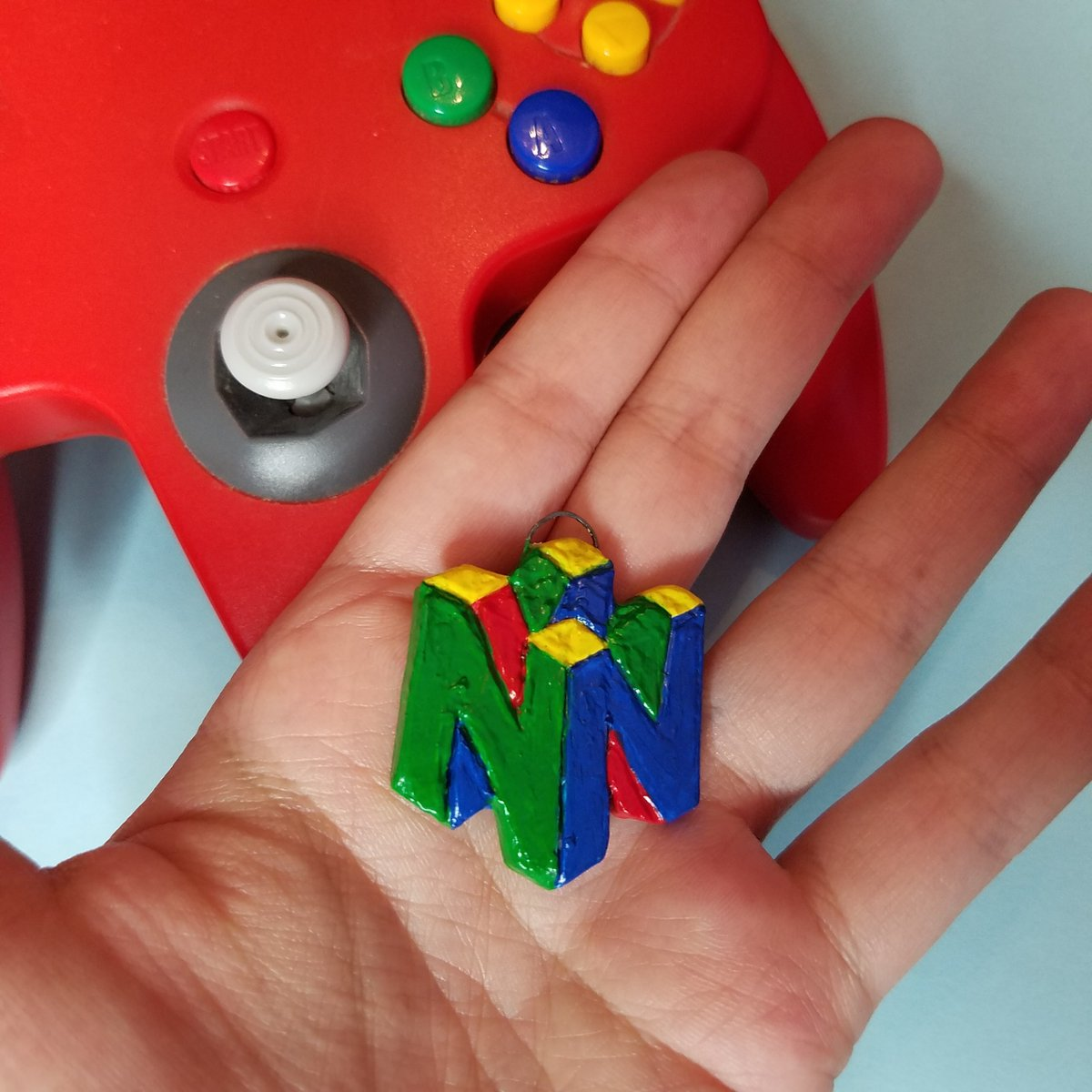 Get N or Get Out  #nintendo #clay pic.twitter.com/0gHARYW0Tc
