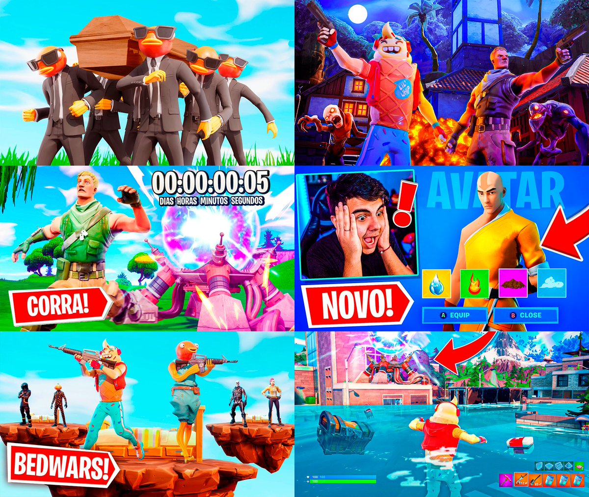 Fortnite Thumbnail's  #RT and #LIKE are appreciated! pic.twitter.com/vYffOF4Poc