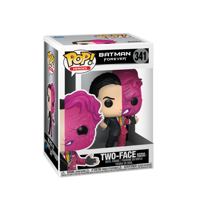 RT & follow @OriginalFunko for the chance to win a Two-Face Pop! bit.ly/2Xnnm6t