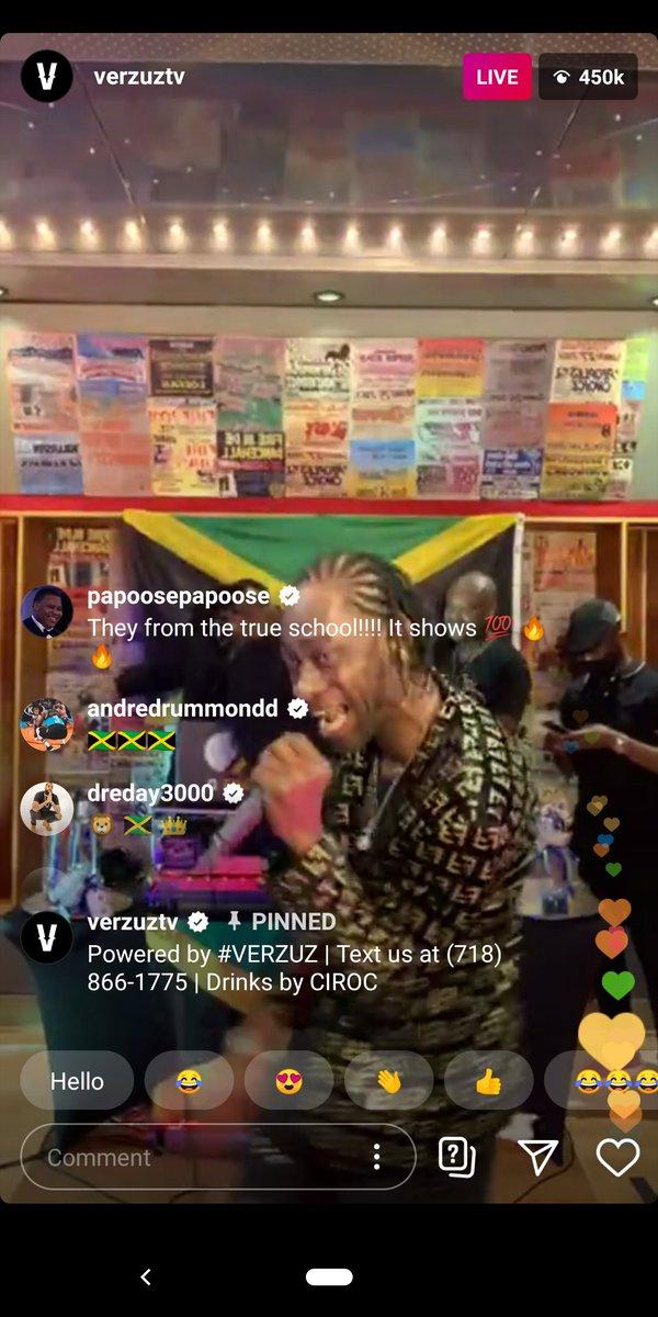 @AndreDrummond is Jamaican? #VERZUZ