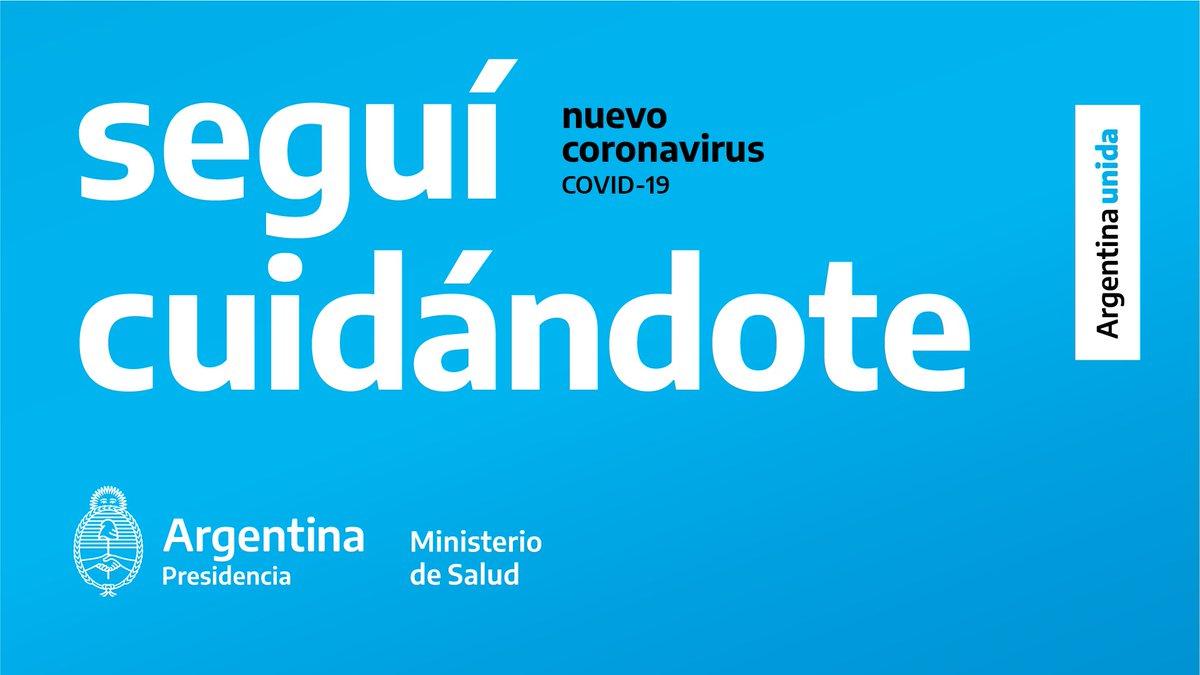 Estemos seguros: este es el camino para seguir combatiendo al COVID-19. #CuidarteEsCuidarnos #ArgentinaUnida https://t.co/QIFXmHSQFH