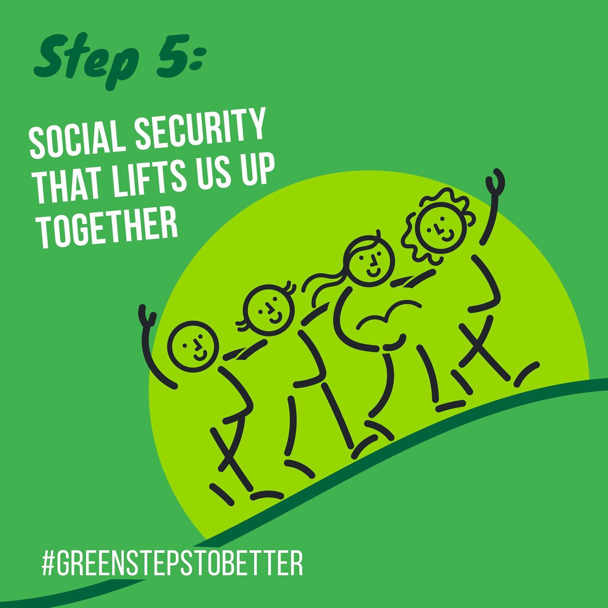 @CarolineLucas is inviting everyone to think about the post Covid future with her #greenstepstobetter Step 5: A BASIC INCOME FOR EVERYONE: a guaranteed minimum, providing security for all