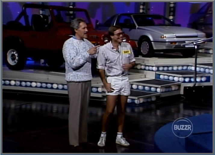 Only in 1988 could somebody pull off this outfit. (Not Trebek.)