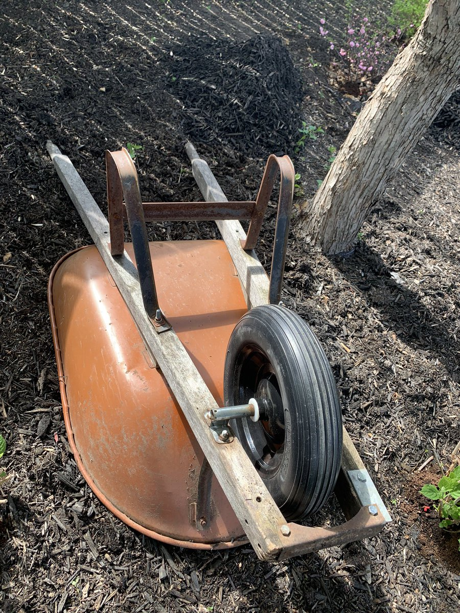 test Twitter Media - When you spend a couple hours finding and machining parts for a wheelbarrow that is older than your oldest daughter, are you:  a. cheap  b. frugal c. nostalgic  d. in urgent need of a distraction e. all of the above https://t.co/0ijbbk54uv