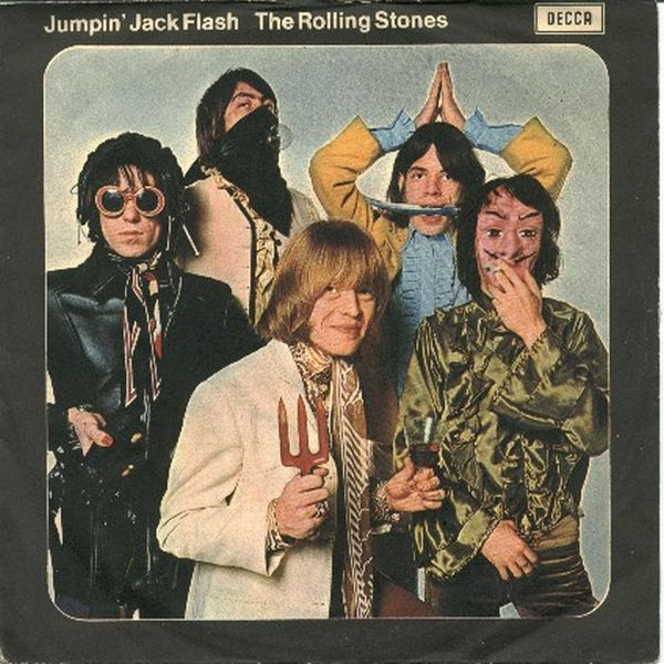 "24 May 1968, The Rolling Stones released the single ""Jumpin' Jack Flash""pic.twitter.com/C3nMeLfbU5"