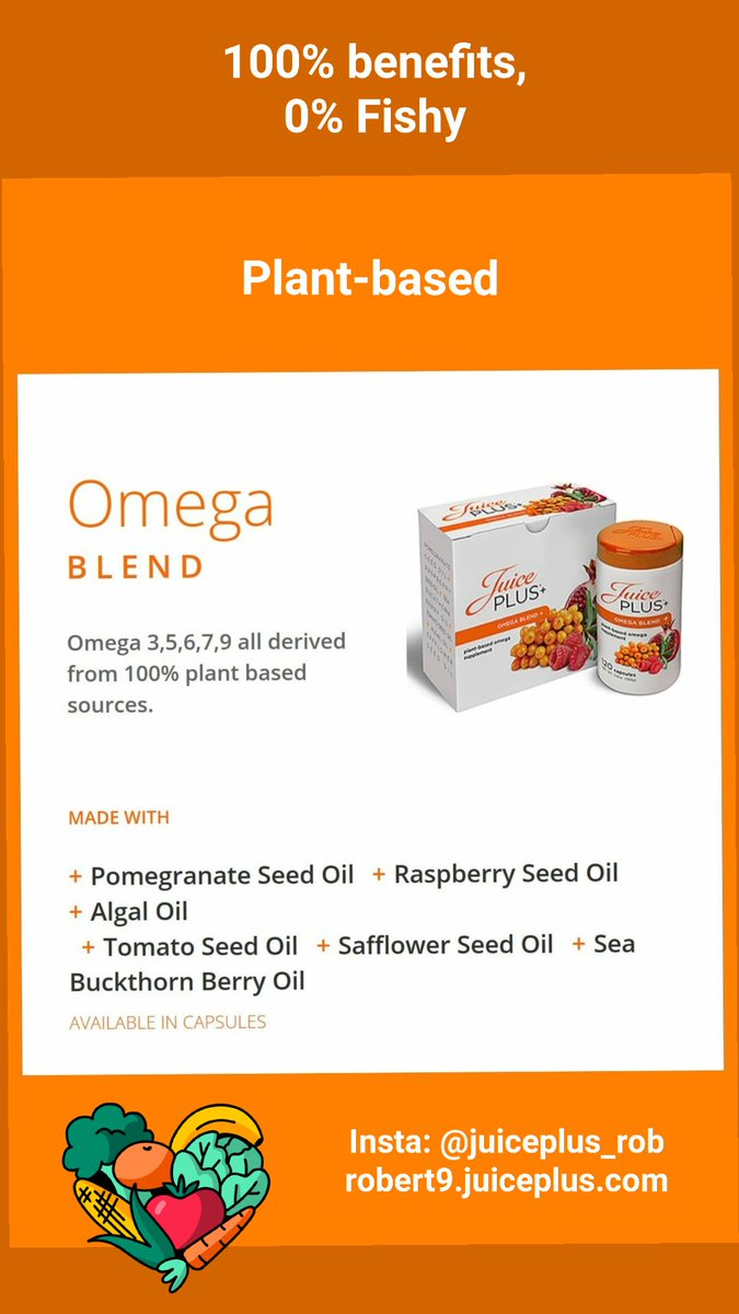Real Nutrition. Real Simple!  Our Omega fatty acids support a broad array of health benefits --- especially for the heart, brain, joints, skin & eyes. #health #vegan #organic #healthandwellness #wellness #healthylifestyle #healthy #wholefoodnutrition #nutrition #juiceplus #omegaspic.twitter.com/Ut233aC6bt