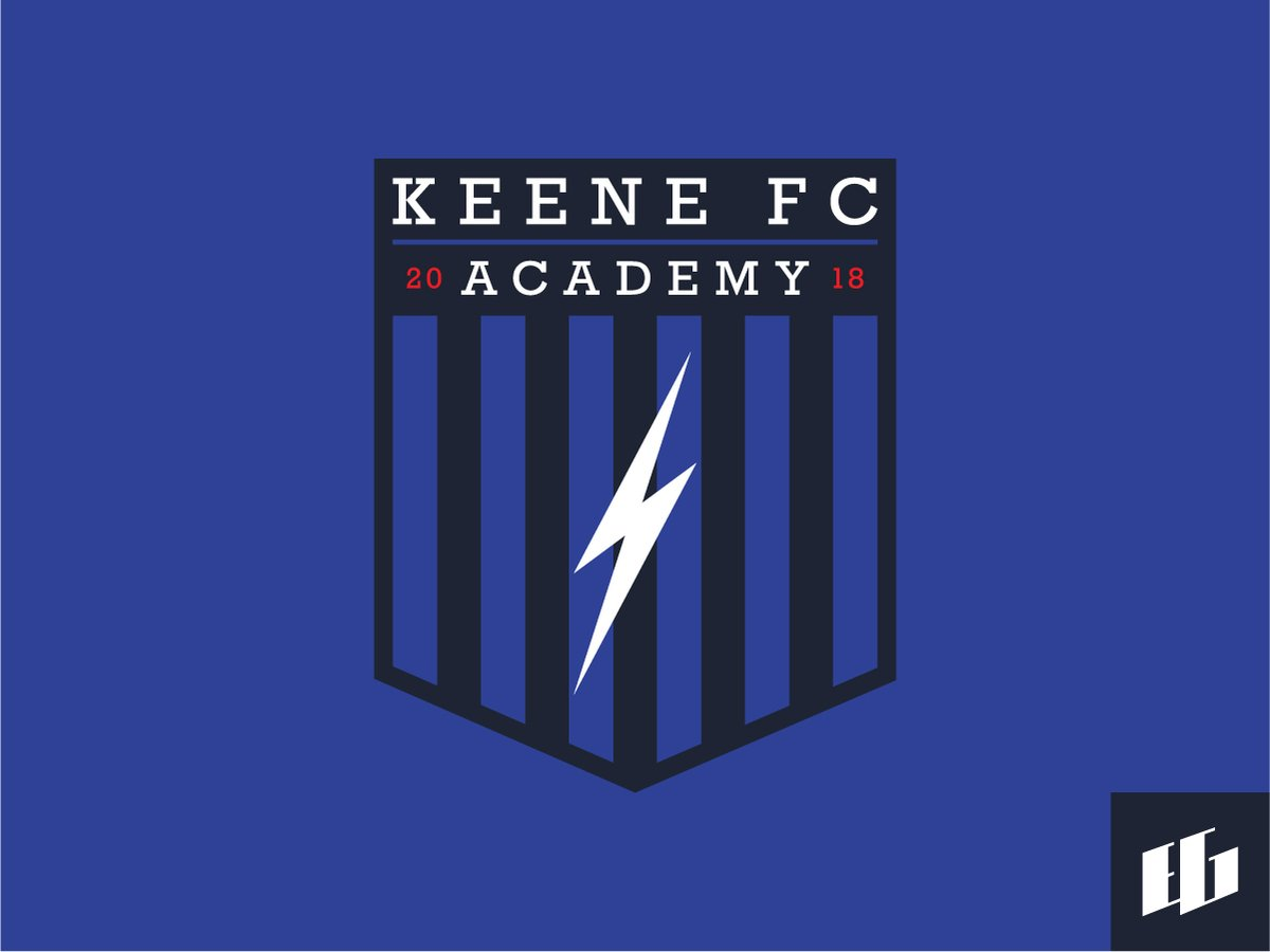 Wha could have been? Concept logo for the now defunct #KeeneFC and their potential academy. Shoutout to @MattKahla for aksing me to work on this, it was a lot of fun. #localsoccer #keenefc #academy #upsl #soccer #supportlocal https://t.co/i3icNp68NY