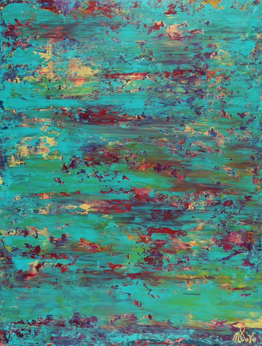"Latest #painting ""Celeste Terrain (red reflections)"" 24 W x 33 H x 1 in now available http://NestorToro.com  #art #artwork #paintings #interiordesign #ContemporaryArt #LosAngeles #California #artist #paintings #artsales #modernArt #Artcollectors #buyArt #LAArt #artinLA pic.twitter.com/l5kcaBlFn1"