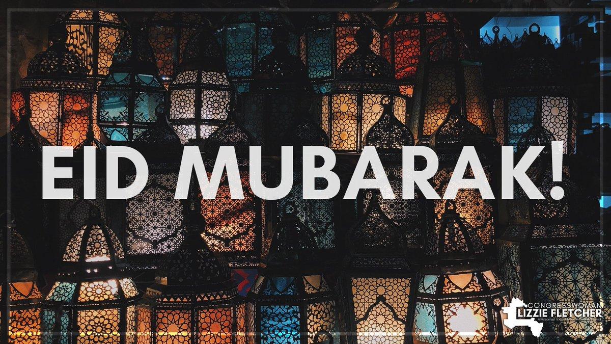 Congratulations and #EidMubarak to all those celebrating the end of Ramadan!