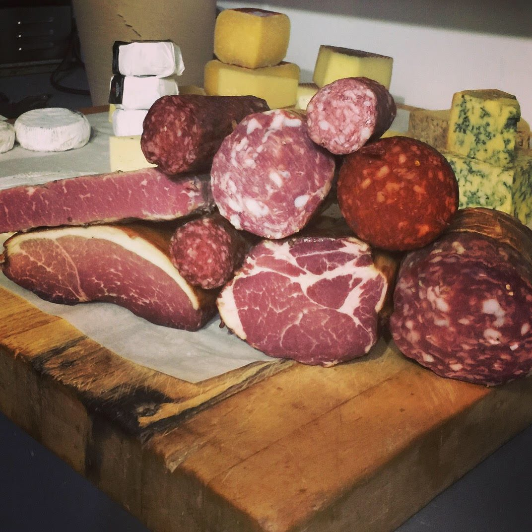Meat & Cheese - ready to please!!  #salt #gastown #mygastown #vancouver #charcuterie #meat #cheese #irishinvancouverpic.twitter.com/6c18uixOYv