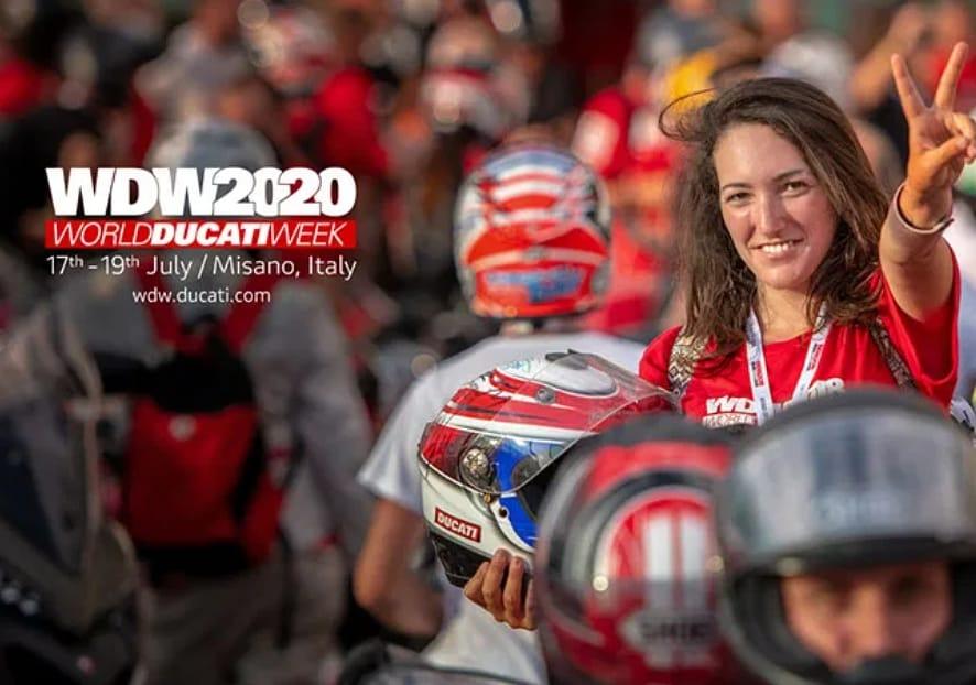 A 11ª Semana Mundial Ducati conta com data para 2020 e, portanto, já é oficial que o evento irá realizar-se entre 17 e 19 de Julho, em Misano.  #PREVENÇÃO! pic.twitter.com/zKBu7DcRJI
