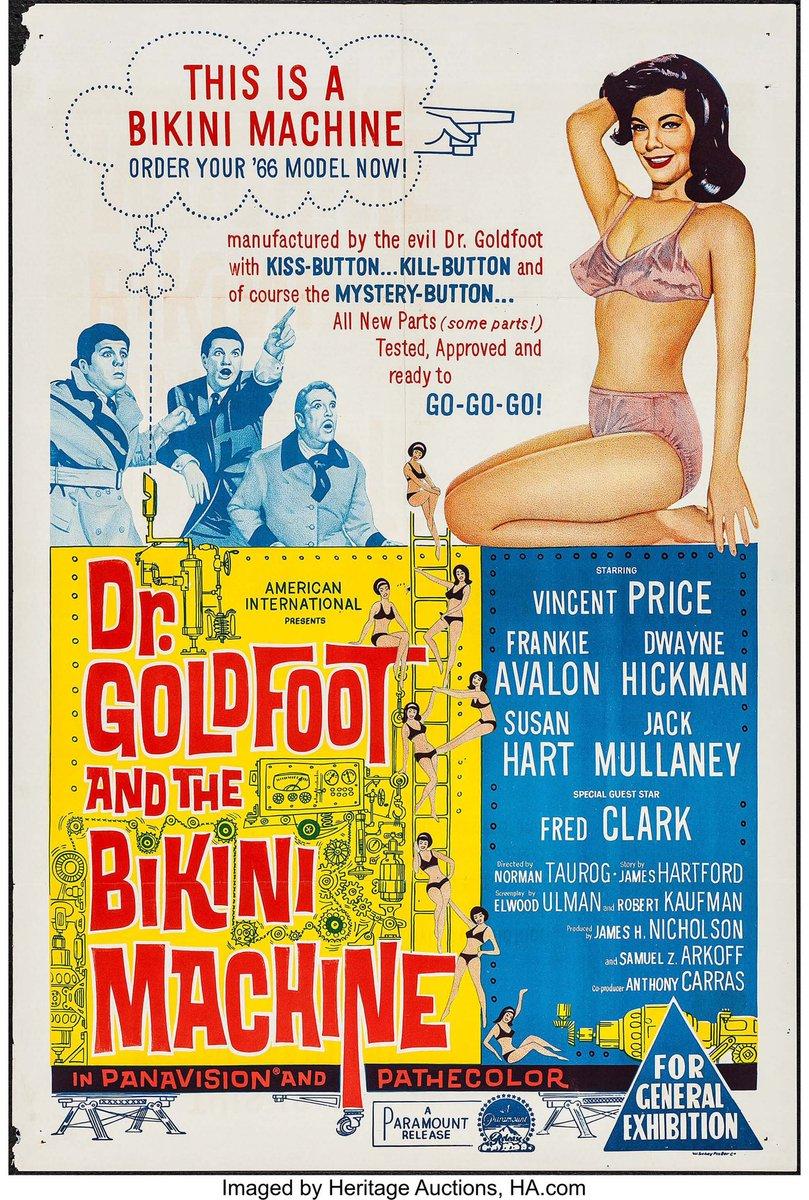 Now watching - Dr. Goldfoot and the Bikini Machine (1966) #normantaurog pic.twitter.com/oT31s6qDo3