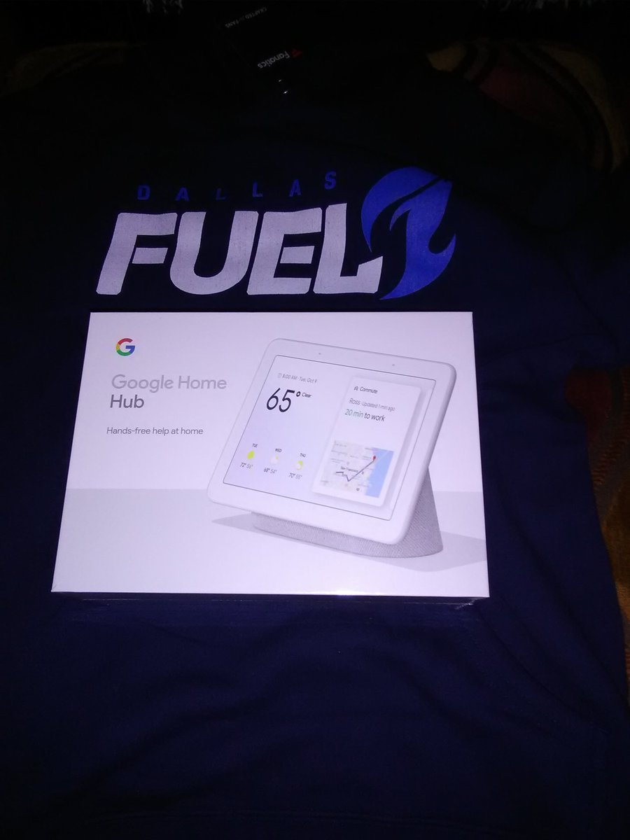 Tough match today but my prize from answering @DallasFuel's trivia came in and it's sweet! Thanks and #BurnBlue 🔥