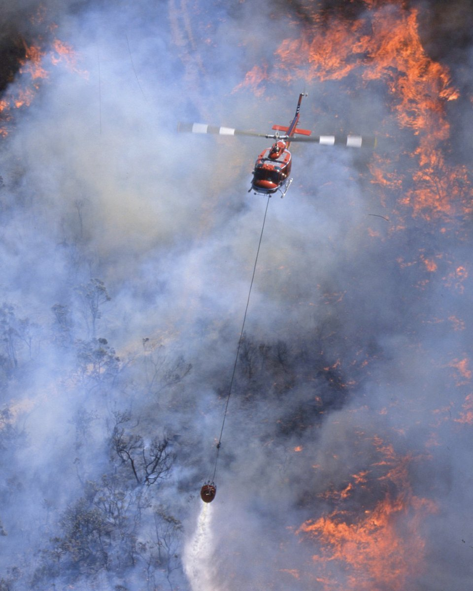 Our daily Anti Covid 19 Pic Me Up Image today is one we shot on the NSW Bush fires a few years back. A Bell Flight Huey at work. #aerialfirefighting #huey #bellflight NSW Rural Fire Service #instahelicopter #instagramaviation pic.twitter.com/O9x07K2htD