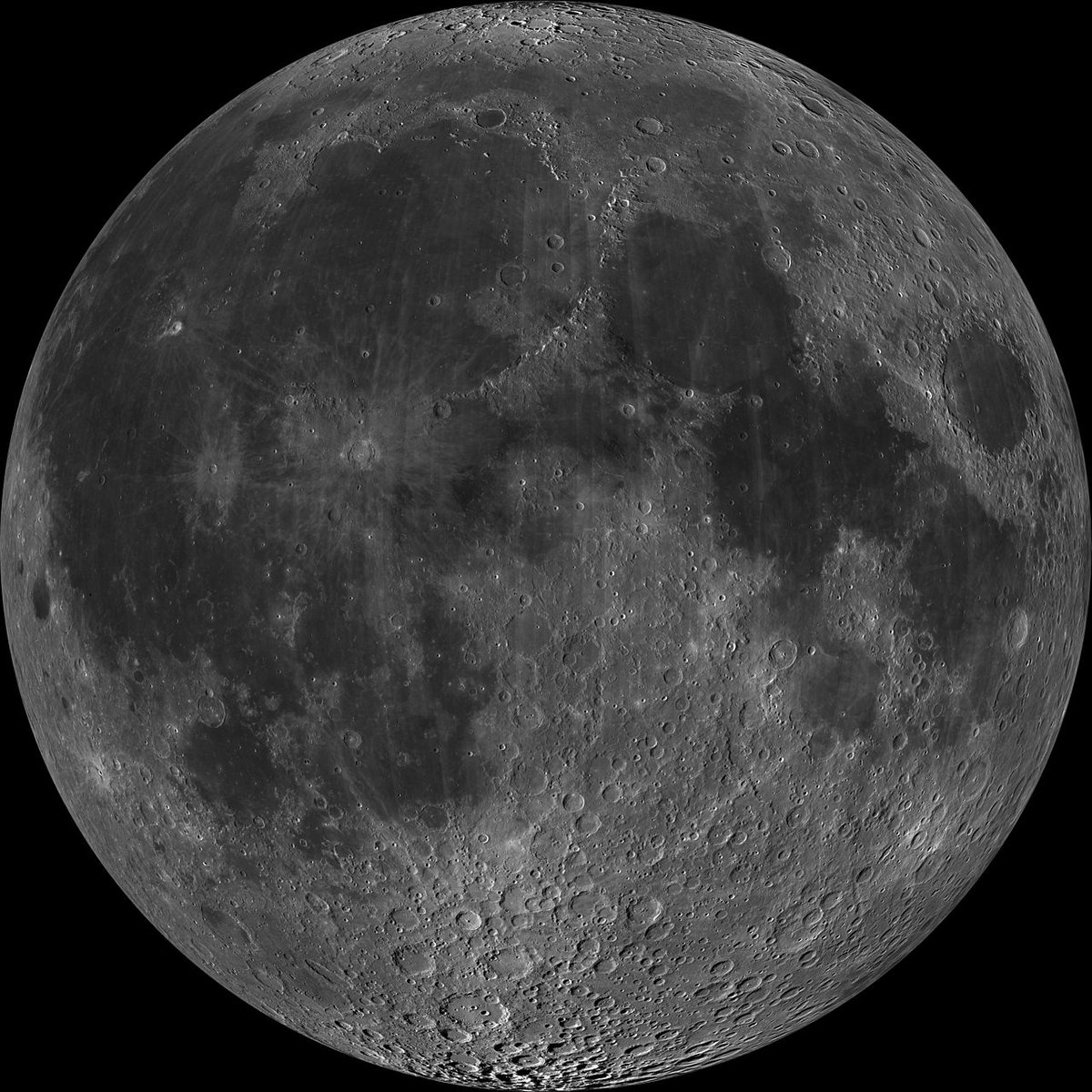 Interesting fact: The moon is moving away from the Earth at a rate of approximately 4 cm per year!