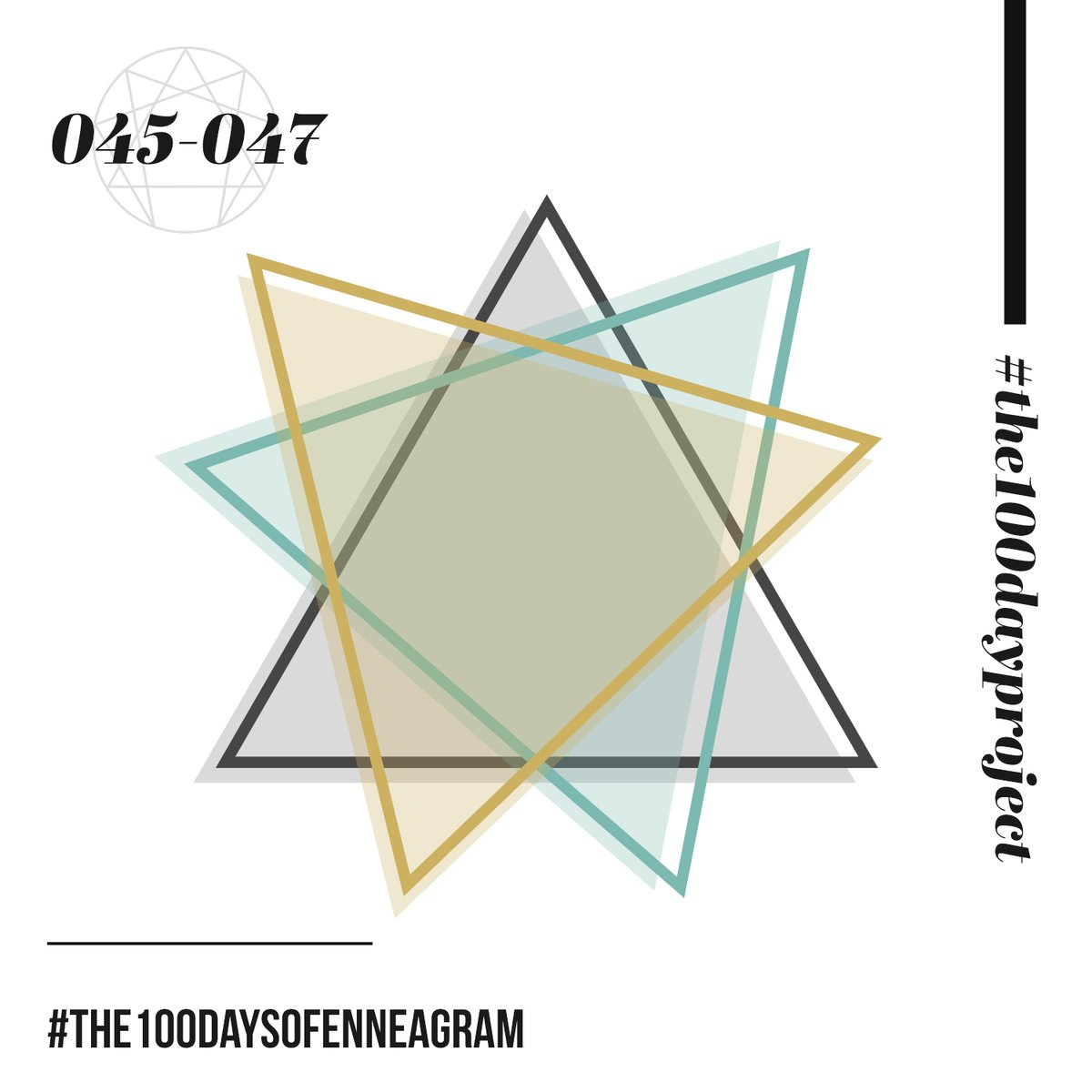 045/100 Harmony Triads & Object Relations Theory 046/100 The Relationalists/Rejection Types (2,5,8) 047/100 The Pragmatists/Attachment Types (3,6,9)  Listen at https://t.co/MBo795Vt8V. All caught up!  #the100dayproject #the100daysofEnneagram #enneagram https://t.co/gLAPYYNkcs
